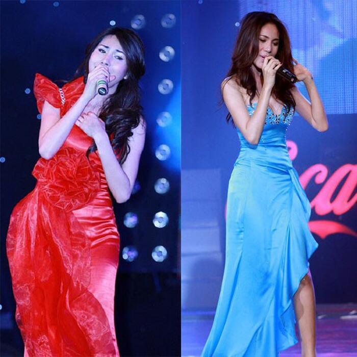 Thủy Tiên từng gây tranh cãi vì váy áo táo bạo từ sân khấu tới thảm đỏ, Công Vinh chưa một lần khó chịu 8