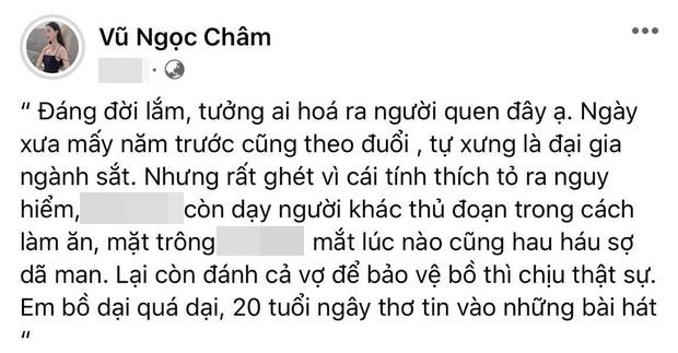 Bài đăng của Vũ Ngọc Châm.