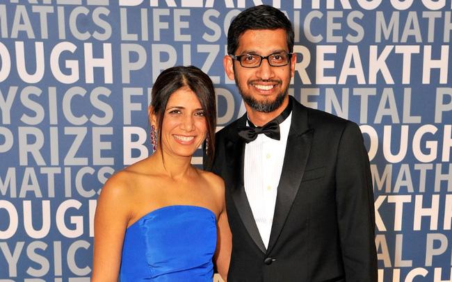 Vợ chồng CEO Google