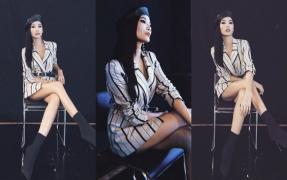 Chán style Hoa hậu, Hoàng Thùy trở lại 'lợi hại hơn xưa' với phong cách nổi loạn gấp bội phần