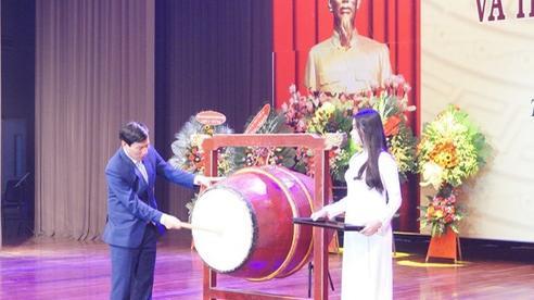 Bộ trưởng Nguyễn Ngọc Thiện dự lễ khai giảng Học viện Âm nhạc Huế