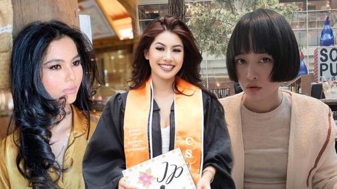 Các nàng Hoa hậu, Á hậu Việt khiến công chúng không khỏi xuýt xoa khi công khai nhan sắc chị em gái