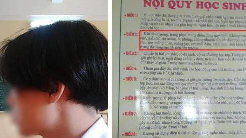 Nam sinh Hải Phòng bị đình chỉ học vì để tóc dài gây tranh cãi: Thông tin bất ngờ từ đại diện nhà trường