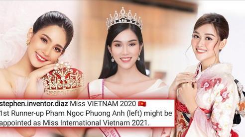 Hoa hậu Quốc tế đánh tiếng muốn Á hậu Phương Anh đại diện Việt Nam thi Miss International 2021