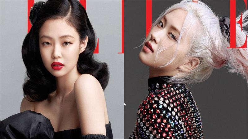 BLACKPINK lên hẳn bìa Elle Mỹ: Ngất lịm với kiểu tóc 'già đanh' của Jennie, Rosé xuất thần, Jisoo - Lisa vẫn một màu