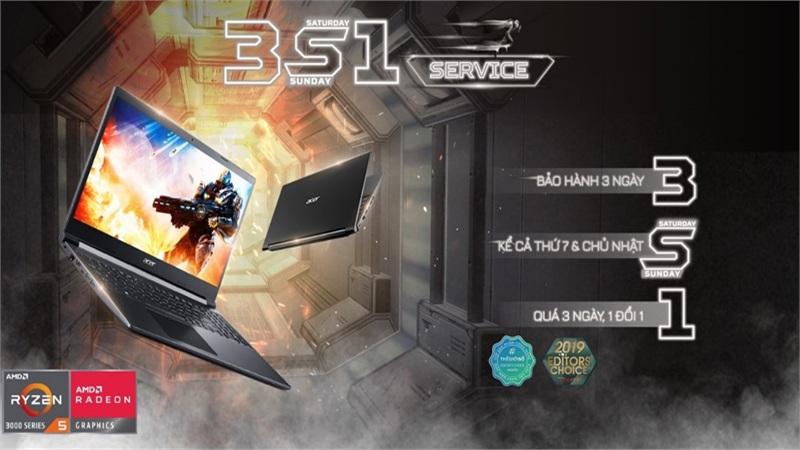 Acer Aspire 7 - Trải nghiệm gaming đích thực ngay trong tầm tay