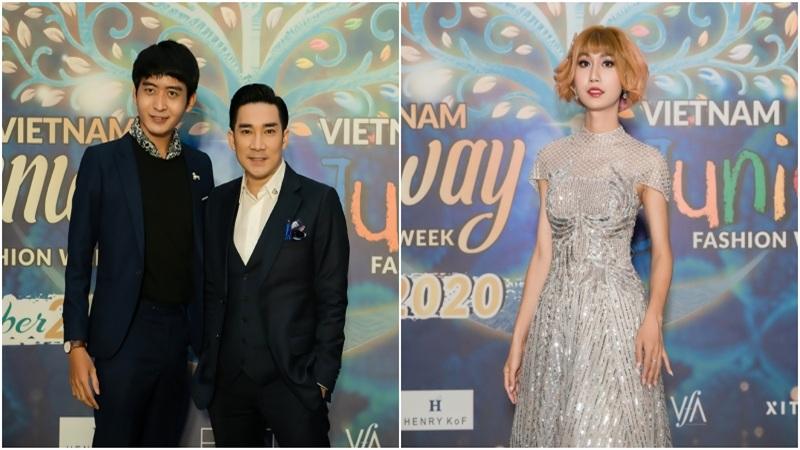 Quang Hà, Lynk Lee cùng dàn sao 'đại náo' thảm đỏ thời trang