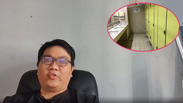 Đặt máy quay lén nhân viên nữ trong nhà vệ sinh bị phát hiện, chủ studio lên tiếng xin lỗi nhưng vẫn nhắn tin 'đe dọa' nạn nhân?