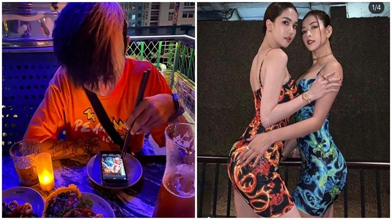 Lăng LD (Rap Việt) gây tranh cãi khi đăng ảnh để hình Chi Pu và Ngọc Trinh như món ăn trong đĩa