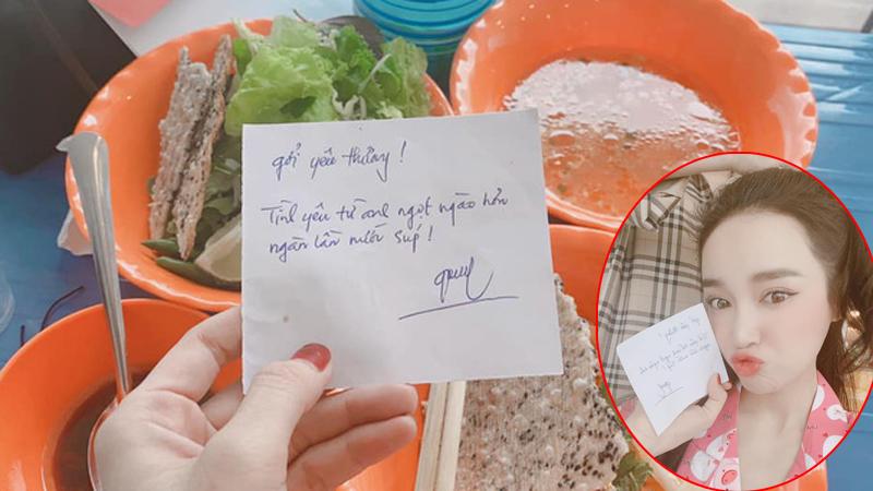 Nhã Phương khoe thư tay Trường Giang gửi lúc đi làm, 'ngọt hơn cả nước súp' là có thật
