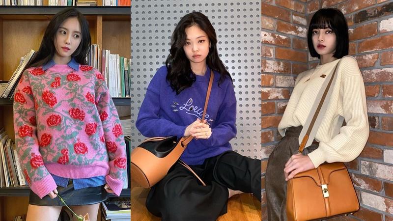 Jennie cùng loạt sao Hàn gợi ý cách diện áo len ấm áp mà sành điệu