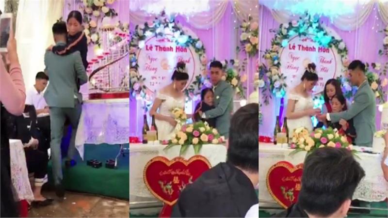 Bật khóc cảnh chú rể bế mẹ bại liệt lên sân khấu trao nhẫn ngày cưới, hành động của cô dâu khiến ai nấy gật gù: Anh chọn đúng người rồi!