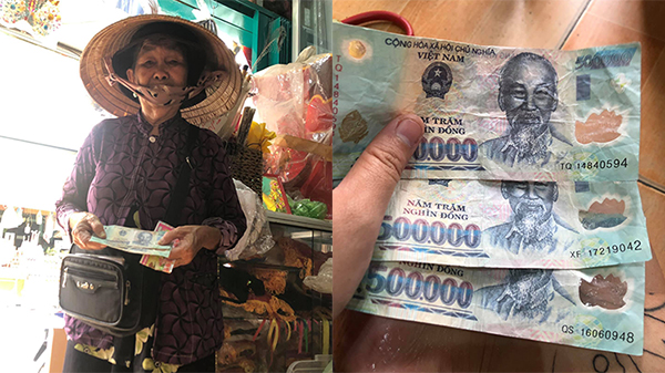 Xôn xao chuyện cụ bà 76 tuổi bị thanh niên khỏe mạnh lừa gạt 18 tờ vé số và 1,3 triệu tiền mặt ngay giữa ban ngày