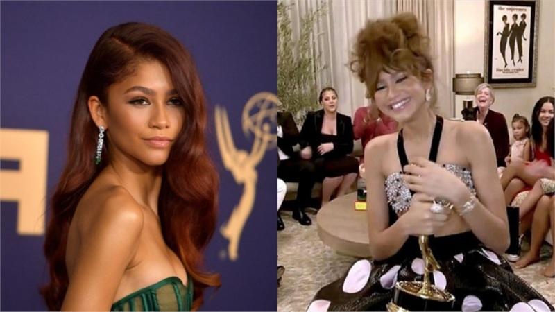 Nhờ 'Euphoria', Zendaya trở thành diễn viên trẻ nhất mọi thời đại thắng giải nữ chính tại Emmy