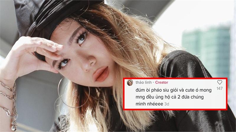 Bị so sánh với Pháo, TLinh (Rap Việt) bất ngờ lên tiếng, còn khen ngợi nữ rapper 'chương trình đối thủ'