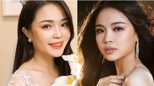 Nữ sinh báo chí nổi danh từ Hoa hậu Thế giới Việt Nam, xinh xắn đáng yêu như 'bạn gái nhà bên'