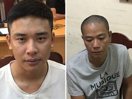 Khởi tố bị can, bắt tạm giam hai đối tượng cướp Ngân hàng BIDV