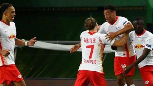 Leipzig lập kỳ tích lịch sử ở đấu trường Champions League
