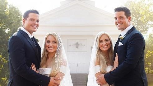 Chuyện lạ: Chị em song sinh cưới được chồng sinh đôi, mang thai cùng thời điểm