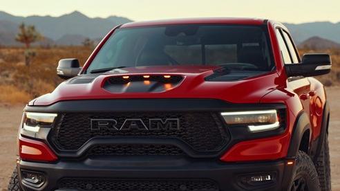 Ram 1500 TRX: Đối thủ nặng ký của Ford Raptor chính thức chào sân