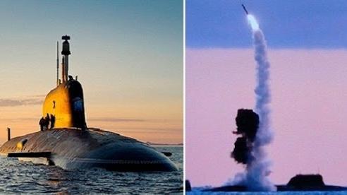 Tàu ngầm Nga có tên lửa xuyên băng dày 5m