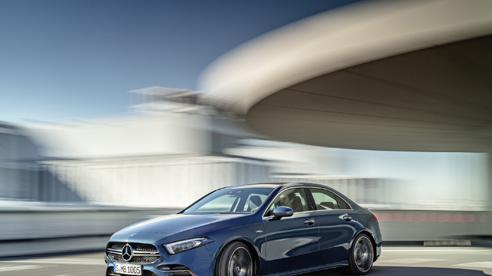 Mercedes-AMG A 35 4MATIC sedan - cảm hứng đến từ tương lai