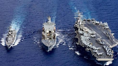 Trung tướng Đài Loan: Trong chiến tranh, nếu hạm đội Mỹ cùng tập trung tại một chỗ, tên lửa TQ sẽ 'đánh bay' tất cả