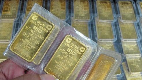 Giá vàng cuối tuần bất ngờ tăng mạnh