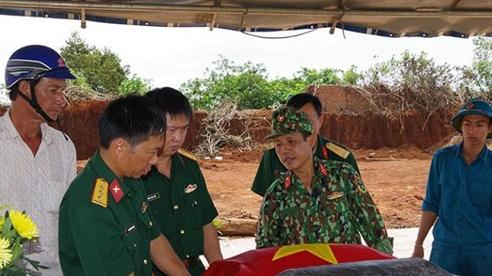 Đắk Nông: Phát hiện mộ liệt sĩ tập thể tại huyện Đắk Mil