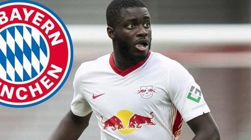 Bayern lấy 'quái thú' Upamecano trên tay MU