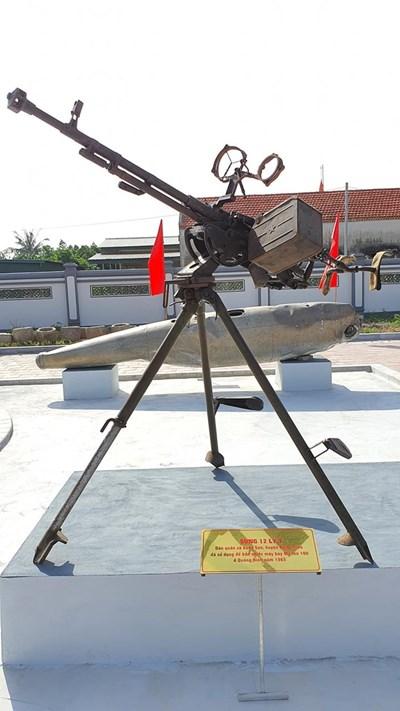 Khẩu 12,7mm bắn rơi máy bay Mỹ thứ 100 trên bầu trời Quảng Ninh