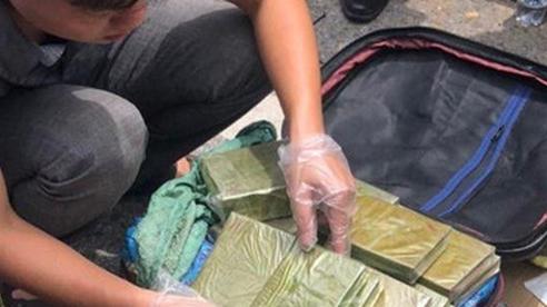Cận cảnh lô ma túy khủng công an vừa vây bắt như phim hành động ở Hà Tĩnh