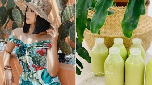 Thức uống 'rẻ bèo' mới được Hoa hậu Ngọc Hân chia sẻ hóa ra lại chứa tác dụng giải nhiệt, thanh lọc cơ thể hiệu quả