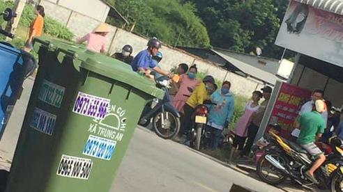 Công an đang làm việc với người vứt bé sơ sinh vào thùng rác ở Củ Chi