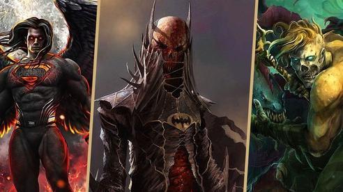 10 siêu anh hùng DC được mô phỏng thành những nhân vật phản diện đáng sợ qua tác phẩm của người hâm mộ