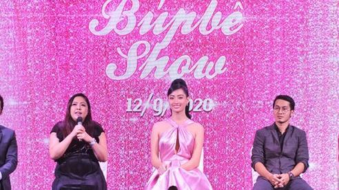 Hoa hậu Lương Thùy Linh diễn trong 'Búp bê show'