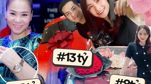 Đọ quà khủng mỹ nhân Vbiz từ bạn trai: Matt tậu cho Hương Giang xế 8 tỷ chỉ sau 3 tháng, Đông Nhi - Thu Minh còn choáng hơn