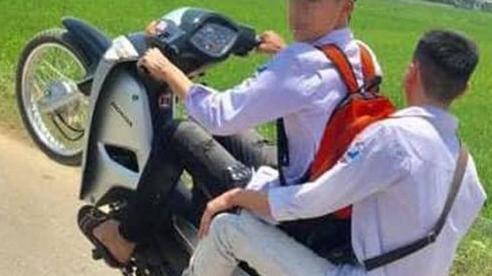 Xử phạt 2 trường hợp khoe 'bốc đầu' xe máy trên mạng xã hội
