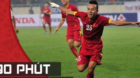 'Khẩu đại bác' của U23 Việt Nam nhấn chìm Indonesia trong chiến thắng đầy ngang trái