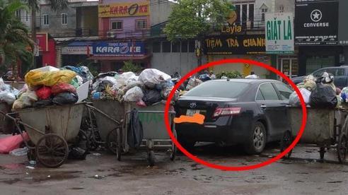 Đỗ ôtô ở bãi đất trống sau 1 đêm, tài xế tái mặt khi thấy cảnh tượng gây choáng