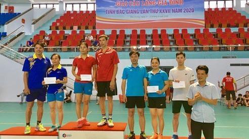 Giải Cầu lông gia đình tỉnh Bắc Giang lần thứ XXVII năm 2020