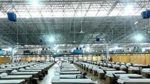 Tiếp tục lập kỷ lục buồn, Ấn Độ sẵn sàng đưa trung tâm Covid-19 lớn nhất thế giới rộng bằng 22 sân bóng đá vào sử dụng
