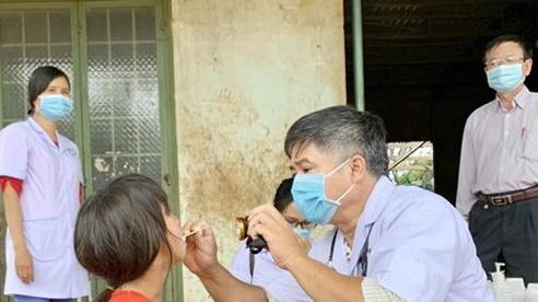 Học sinh xã Hải Yang nghỉ học 1 tuần để phòng chống bệnh bạch hầu
