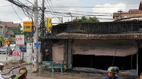 Tiệm cầm đồ ở Bình Dương bốc cháy dữ dội, cả gia đình tử vong