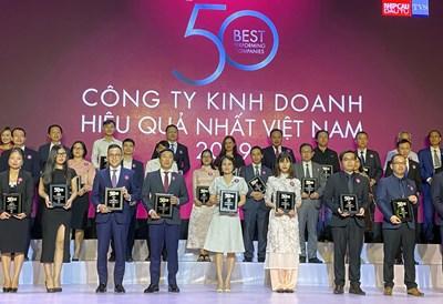 PV GAS nhận tôn vinh '50 Công ty Kinh doanh Hiệu quả nhất Việt Nam 2019'