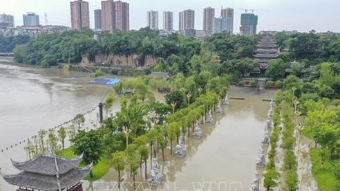 Trung Quốc tăng cường chống lũ trên sông Trường Giang