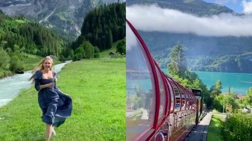 Muốn biết vì sao gọi Thuỵ Sĩ là quốc gia đẹp nhất thế giới, cứ xem qua vài đoạn clip 'bất chấp camera thường' này sẽ rõ