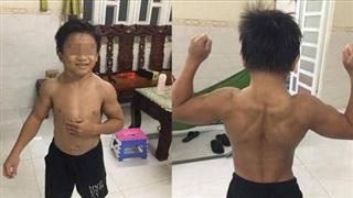 Cậu bé 10 tuổi cơ bắp cuồn cuộn ở Đồng Nai lên báo nước ngoài
