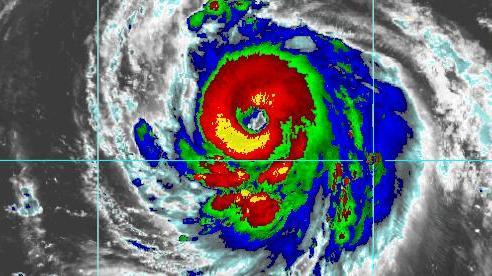 Siêu bão cấp 5 xuất hiện trên Tây Thái Bình Dương: Bão đang tiến về những nước nào?