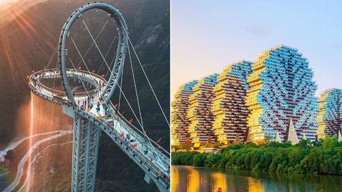 Lại là những công trình Trung Quốc khiến du khách 'hoa mắt' vì quá ảo diệu, mới xem ảnh cứ ngỡ đâu chiêu trò photoshop?